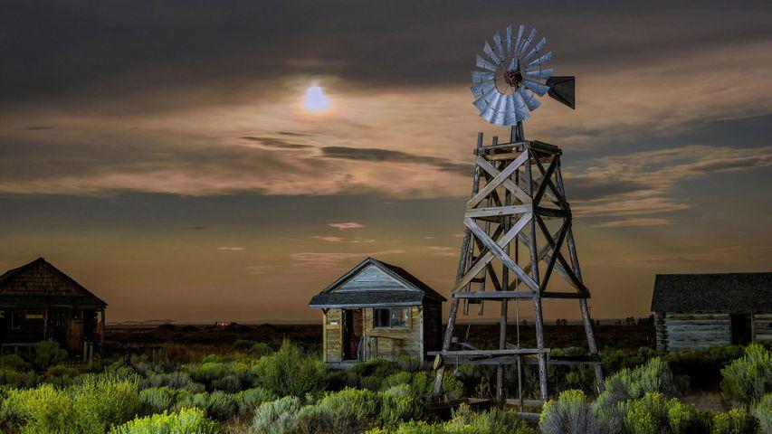 Museo histórico de la granja de Fort Rock Valley, Oregón, Estados Unidos