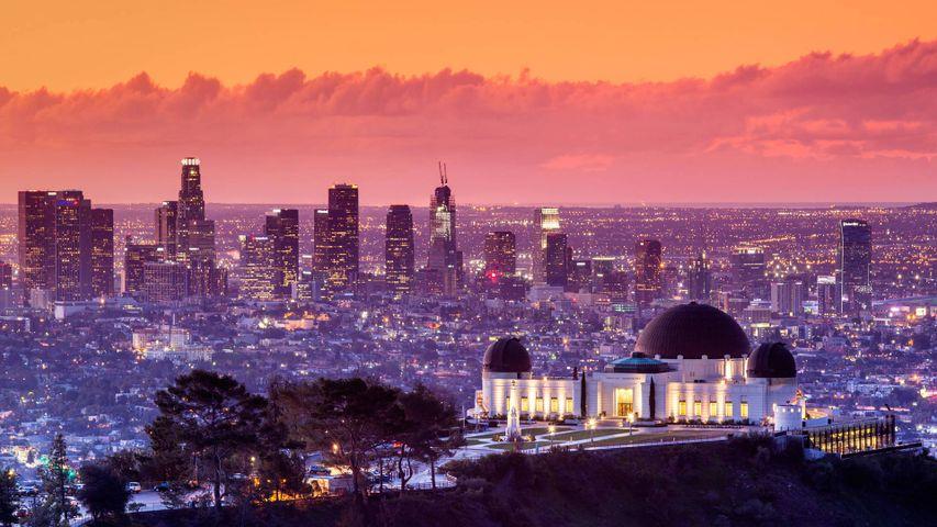 Observatoire Griffith à Los Angeles, Californie, États-Unis