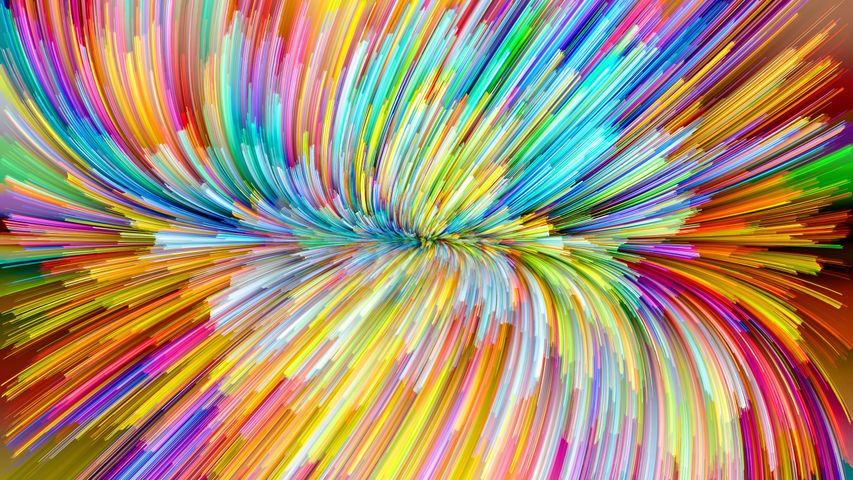 blur art abstract colorful light background rainbow pattern