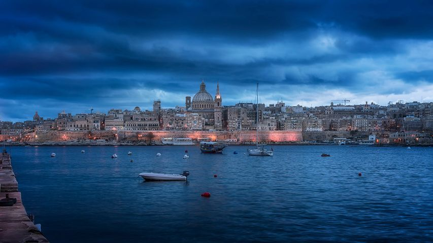 Valletta, Malta, one of Europe's Capitals of Culture for 2018