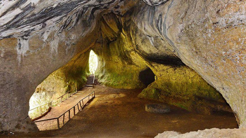 Ludwigshöhle, Fränkische Schweiz, Bayern, Deutschland
