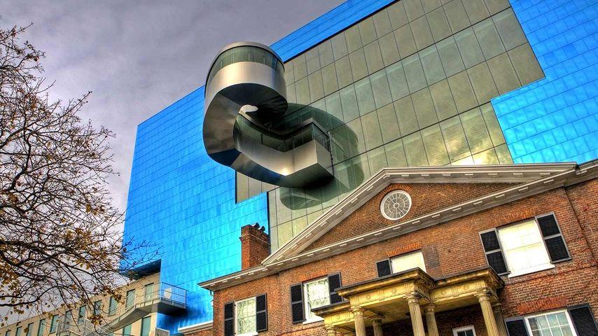 Rear wall of Art Gallery of Ontario, Toronto, Ontario
