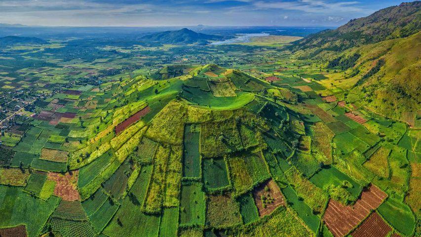 Chu Dang Ya nahe Pleiku, Provinz Gia Lai, Zentrales Hochland, Vietnam