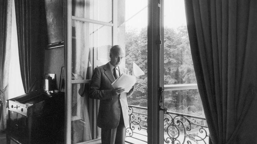 Valéry Giscard d'Estaing reçoit Paris Match à l'Elysée, Août 1979