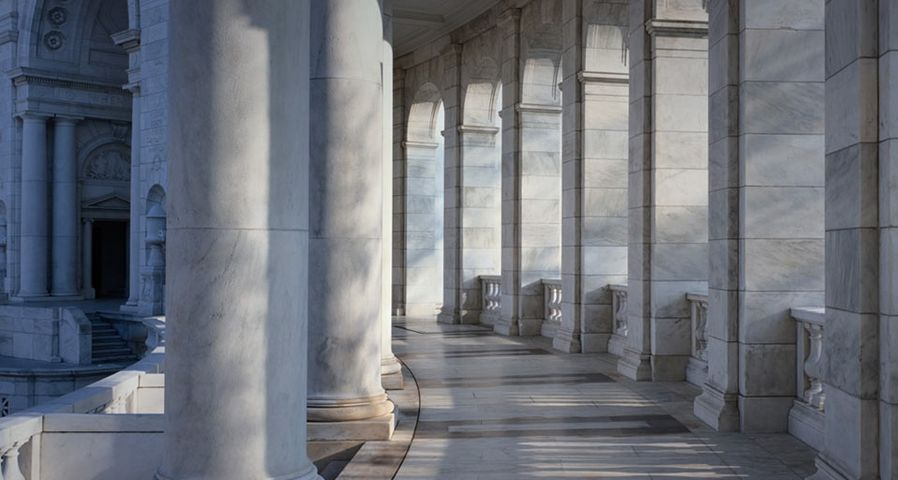 The Memorial Amphitheater at the Tomb of the Unknowns, Arlington, Virginia