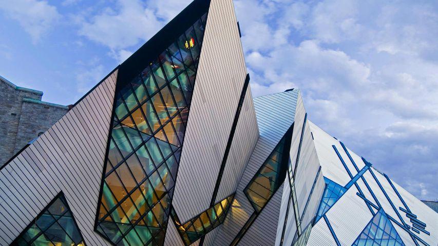 Toronto's Royal Ontario Museum. The Toronto International Film Festival is happening now