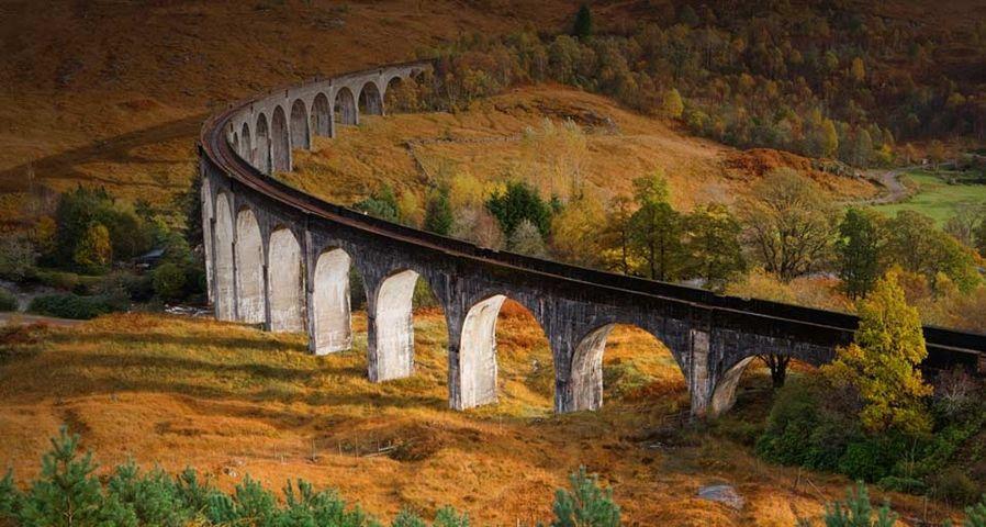 Glenfinnan Viaduct, Lochaber, Highland, Scotland