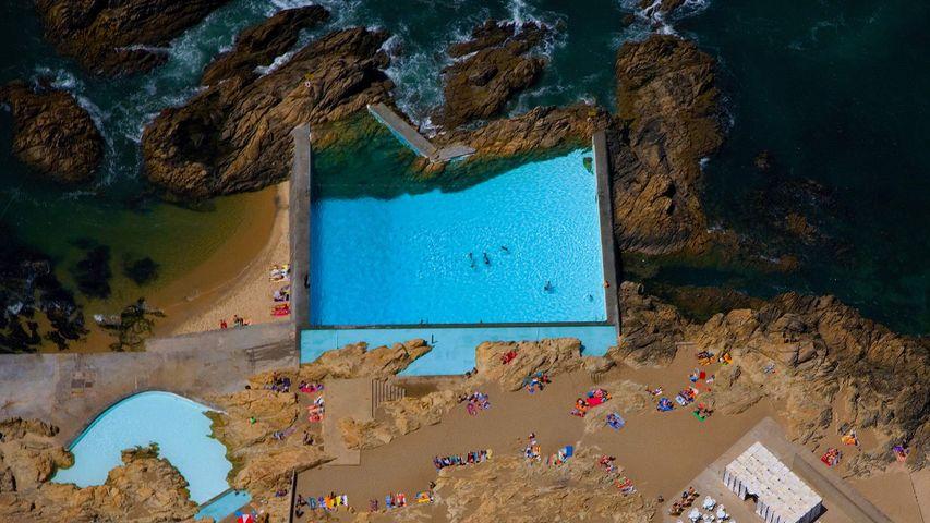 Tidal pools of Leça da Palmeira, Portugal