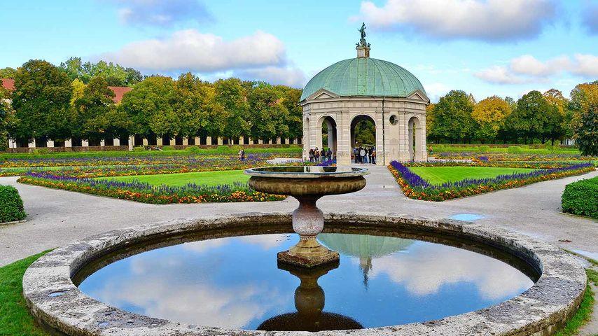 Dianatempel im Hofgarten, München, Bayern, Deutschland