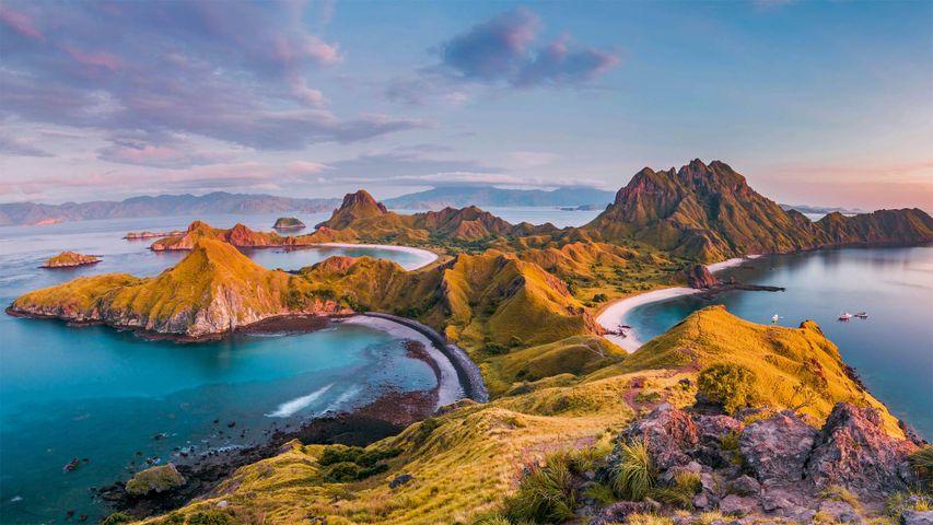 「コモド国立公園」インドネシア, 小スンダ列島