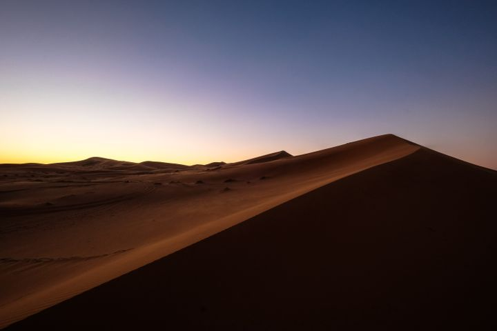 sky desert outdoor aeolian landform erg sand mountain nature