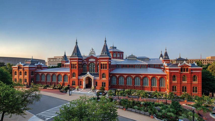 「スミソニアン博物館」米国, ワシントン D.C.