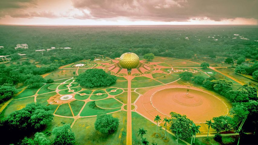 Auroville, South India