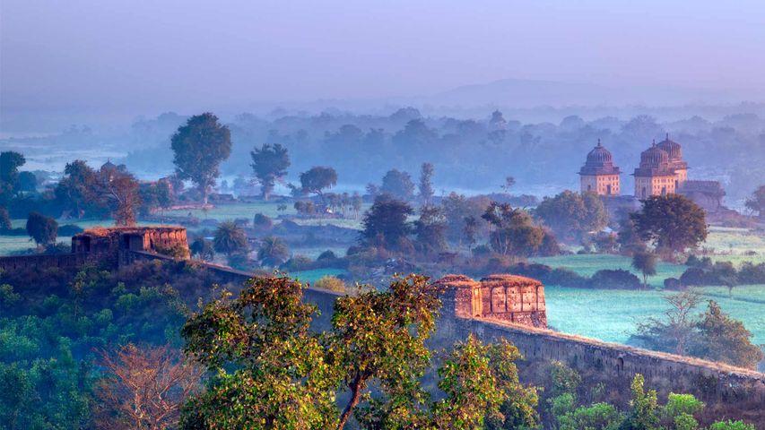 View of Orchha, Madhya Pradesh