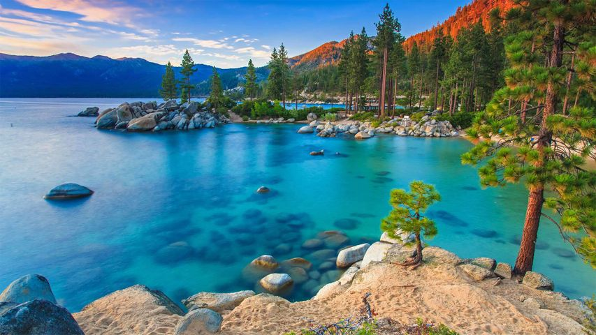 Sand Harbor, Lake Tahoe Nevada State Park, Nevada