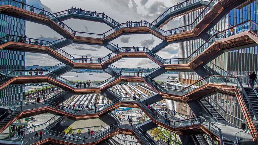 'Vessel' à Hudson Yards, New York