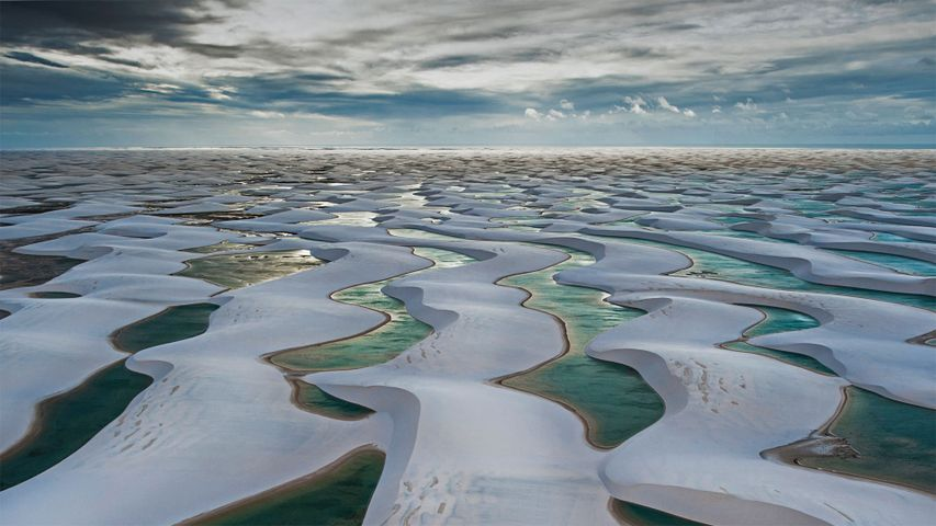 Lençóis Maranhenses National Park in Barreirinhas, Brazil