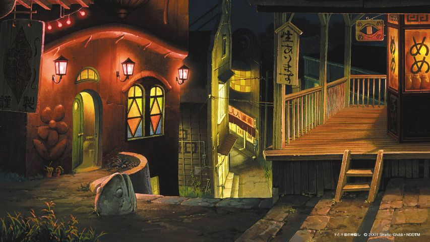 Studio Ghibli Cartoon Free Wallpapers