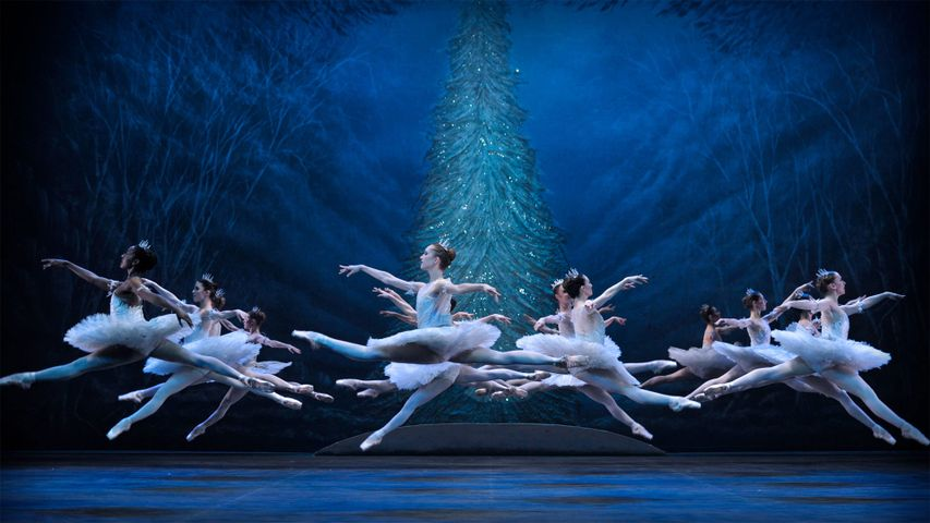 The English National Ballet's 2016 production of 'The Nutcracker' at the London Coliseum in London, England