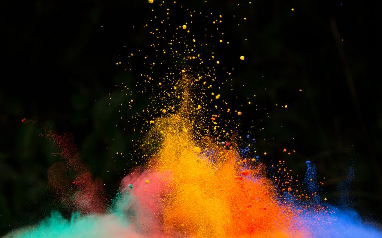 Color Explosion Windows 10 Theme