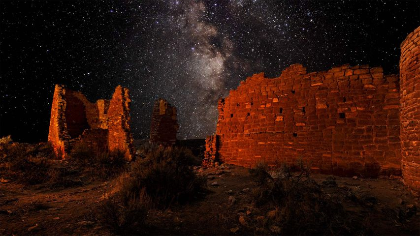 Square Tower Group in Hovenweep National Monument, Utah