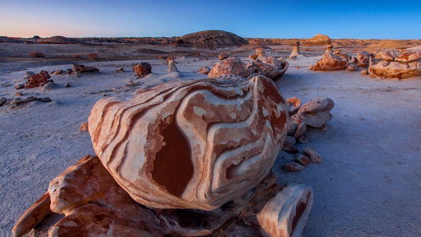 Bisti/De-Na-Zin Wilderness, New Mexico, USA