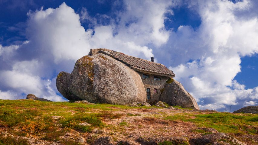 Casa do Penedo (House of the Rock) in Portugal
