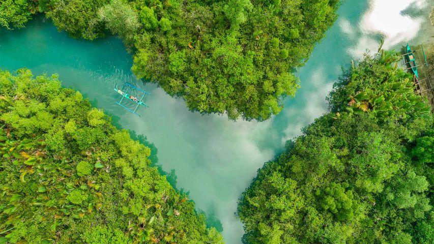 The Bojo River in Cebu, Philippines