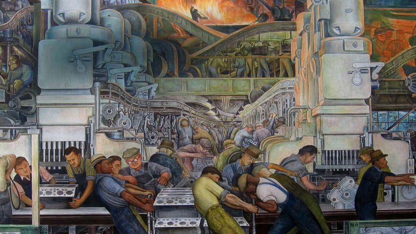 A Diego Rivera painting to celebrate Labor Day
