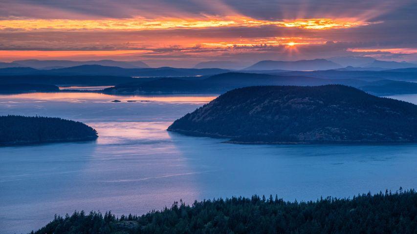 San Juan Islands, Washington state, USA