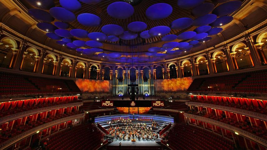 Royal Albert Hall during the annual BBC Proms festival in London