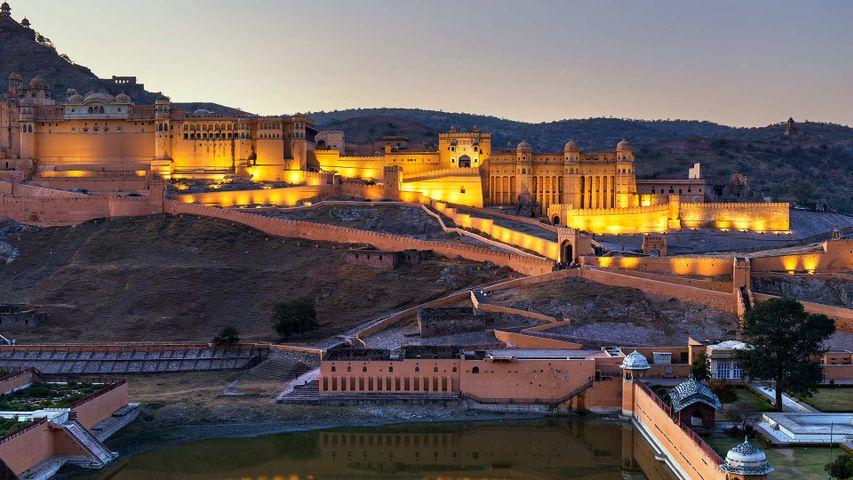 Amber Fort near Jaipur, Rajasthan