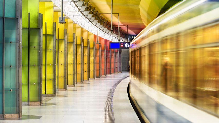 U-Bahnhof Candidplatz in München, Bayern, Deutschland