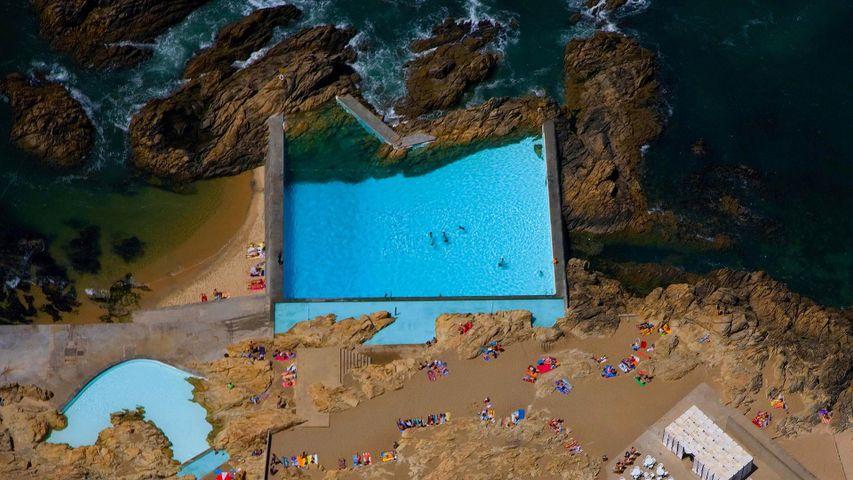 """Strandbad """"Piscinas das Marés"""" in Leça da Palmeira, Portugal"""