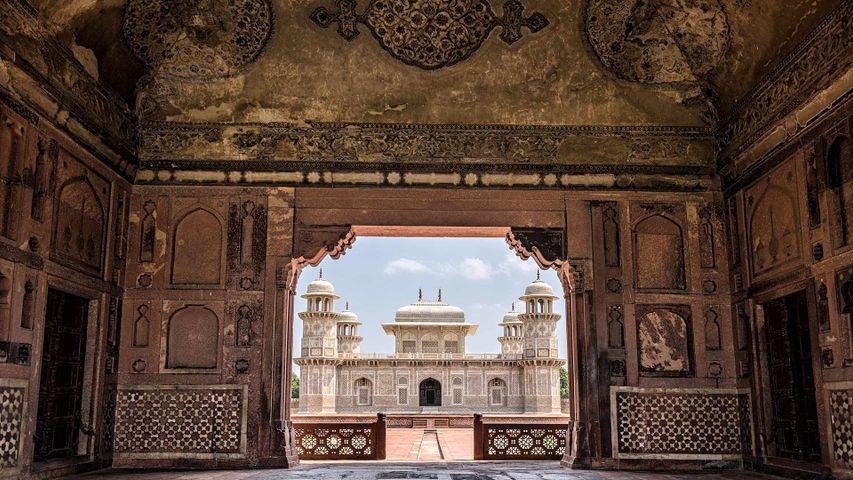 Tomb of I'timad-ud-Daulah, or Baby Taj in Agra