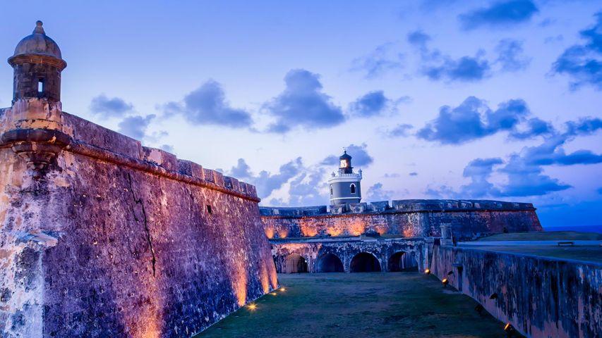 Castillo del Morro, en el Viejo San Juan, Puerto Rico (© grandriver/Getty Images)
