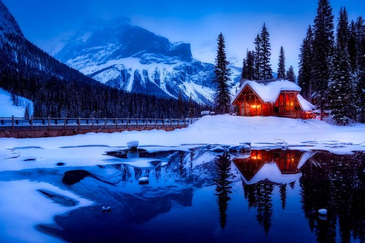 snow outdoor tree sky nature mountain ice forest