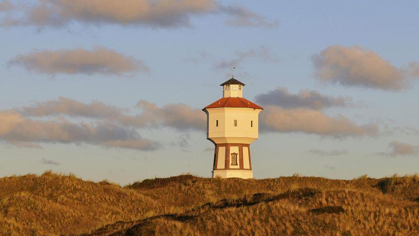 Wasserturm, Langeoog, Ostfriesische Inseln, Niedersachsen