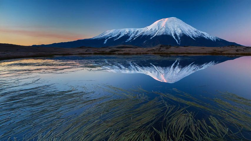Tolbachik volcanic complex on the Kamchatka Peninsula, Russia