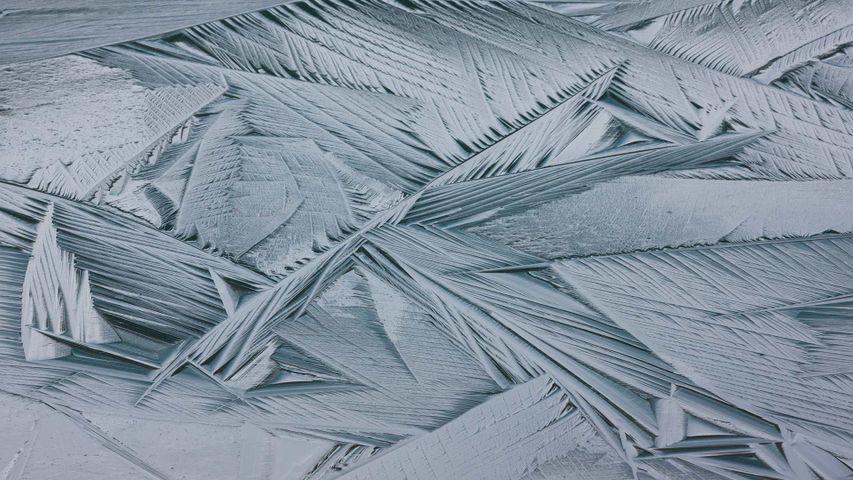 Ice crystals, Japser National Park, Alberta