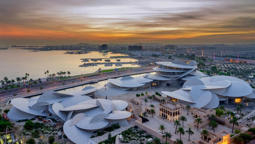 National Museum of Qatar in Doha, Qatar