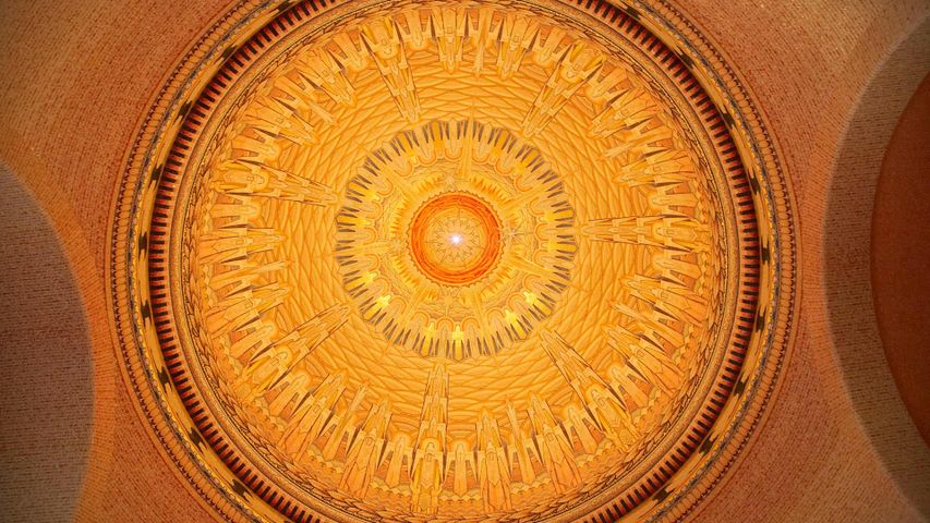 Ceiling of the Tomb of the Unknown Australian Soldier, Australian War Memorial, Canberra