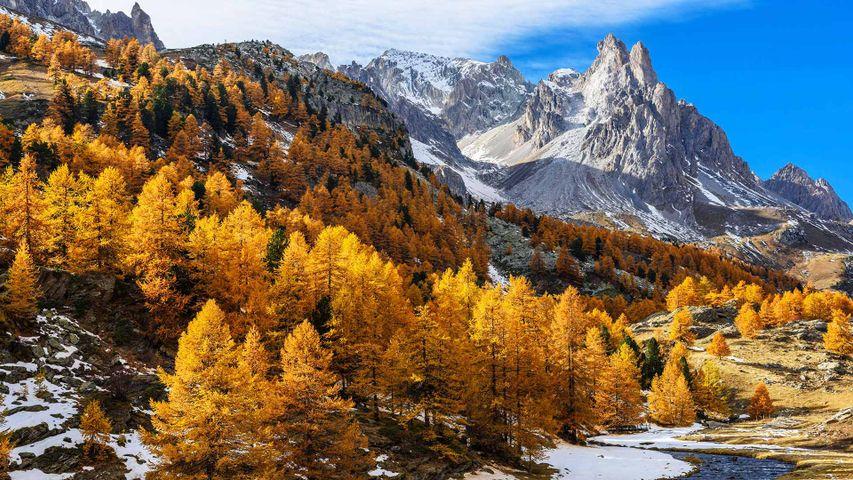 Vallée de la Clarée, Massif des Cerces, Hautes Alpes, France