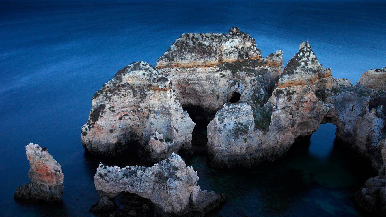 Ponta da Piedade an der Algarve, Portugal