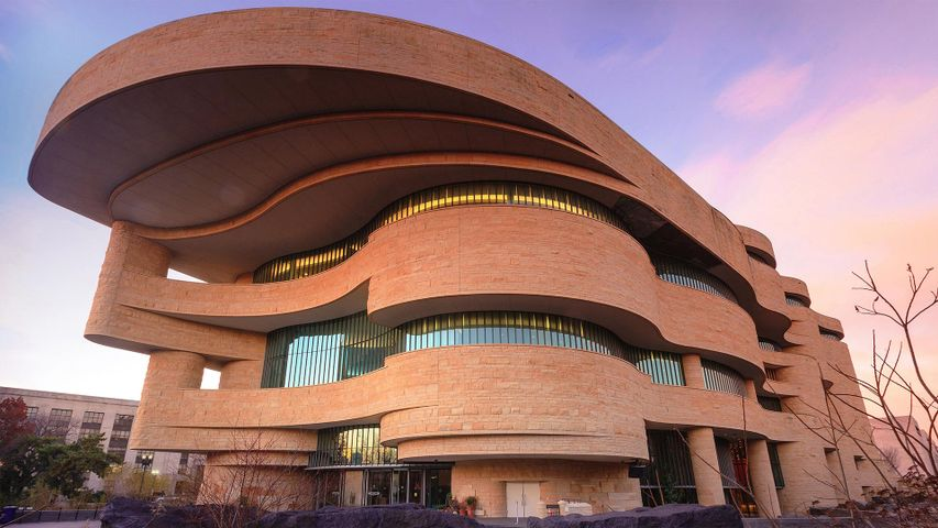 The National Museum of the American Indian in Washington, DC