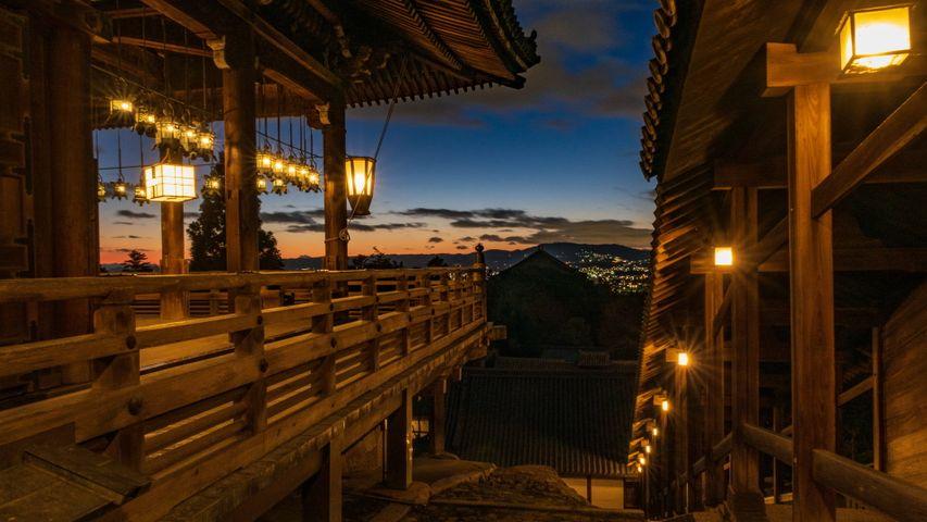 「東大寺二月堂」奈良県, 奈良市