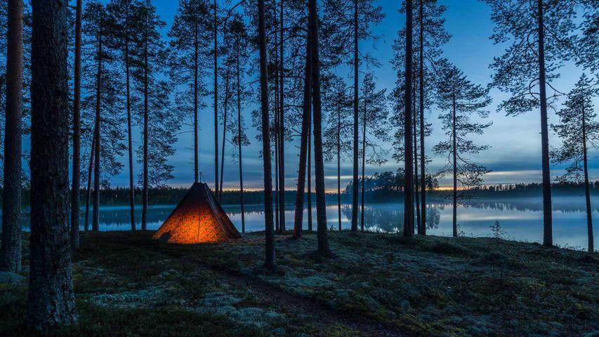 Muje-Oulu Lake in eastern Finland
