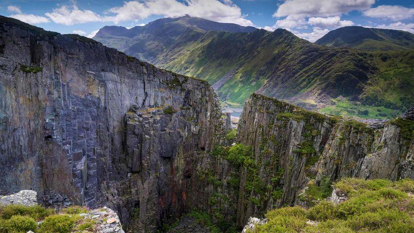 斯诺登山与兰贝里斯山口,英国史诺多尼亚国家公园