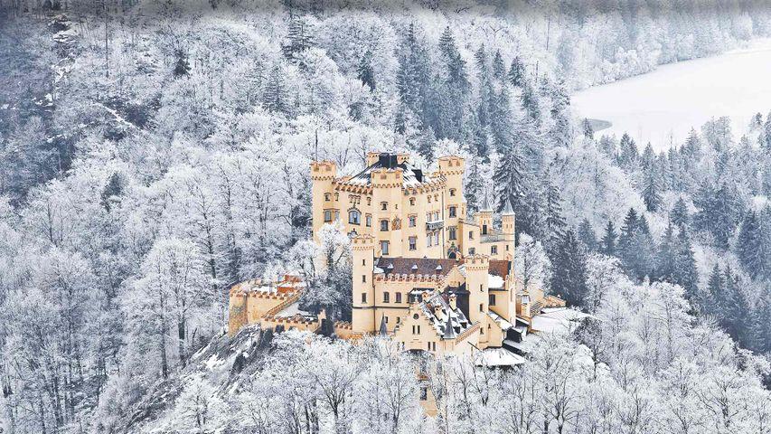 Schloss Hohenschwangau, Schwangau bei Füssen, Bayern