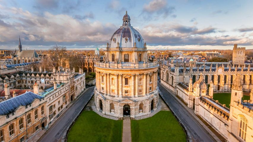 The Radcliffe Camera, Oxford, England for Tolkien Reading Day
